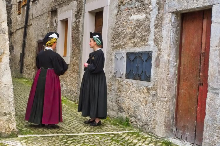 donne di Scanno